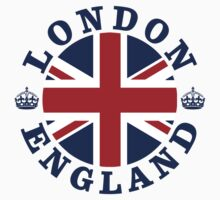 London Vintage Style British Flag by FlagCity