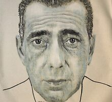 Bogart, by Richard Avedon by Peter Brandt