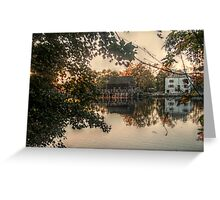 Philipsburg Manor, Sleepy Hollow, NY, USA Greeting Card
