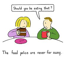 The food police. by KateTaylor