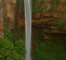 Belmore Falls .. top section by Michael Matthews