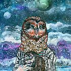 An Owlman and His Lady by Ashley Peppenger
