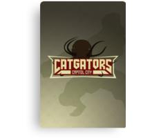 Capitol City Catgators Canvas Print