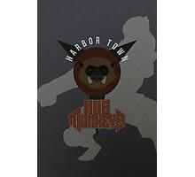 Harbor Town Hog Monkeys Photographic Print