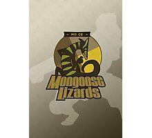 Mo Ce Mongoose Lizards Photographic Print