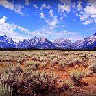Rocky Mountains - Blue Dreams by Norbert Karpen