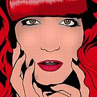 Florence Welch (Roy Lichtenstein Inspired) by AlliVanes