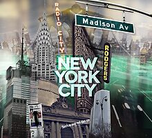 New York City [green] by IER STUDIO