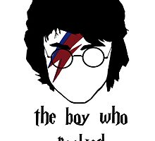 The boy who rocked// with text by SallySparrowFTW