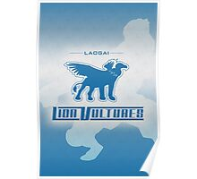 Laogai Lion Vultures Poster