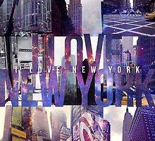 I Love New York by IER STUDIO