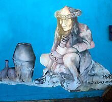 Street Art Poconchile, Chile by Kurt  Van Wagner
