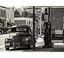 Oil-N-Gas Photographic Print