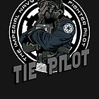 TIE Pilot Crest by Creative Spectator