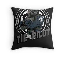 TIE Pilot Crest Throw Pillow