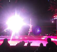 Zippo's Circus/High live wire act -(150413)- Digital Photo/FujiFilm FinePix AX350 by paulramnora