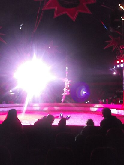 Zippo's Circus/High live wire act -(150413)- Digital Photo/FujiFilm FinePix AX350 by paulramnora