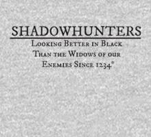 Shadowhunter Motto No. 2 by Annie Ma