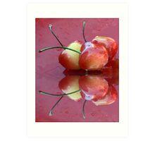 Rainier Cherries Three Art Print