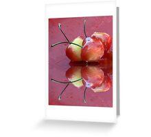 Rainier Cherries Three Greeting Card
