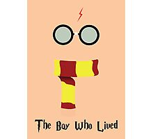 """The Boy Who Lived"" Photographic Print"