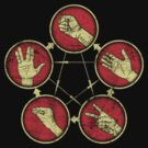 Rock Paper Scissors Lizard Spock by KDGrafx