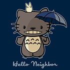 Neighbor by fishbiscuit