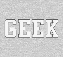 GEEK (for dark color t-shirts) by Madkristin