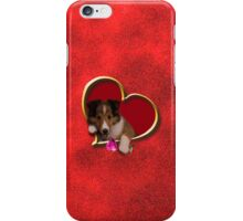 Mother's Day Sheltie Puppy iPhone Case/Skin