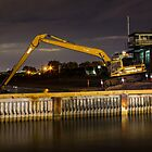 Excavator by CCLphotography