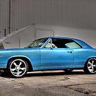 Blue Beauty Car  by CCLphotography