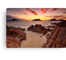 Shoal Beach Sunrise Canvas Print