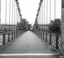 Alone on the bridge by Stevie B