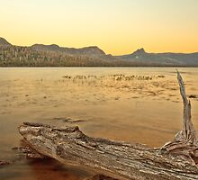 Ida sunset, Cradle Mountain-Lake St Clair National Park by Brian French