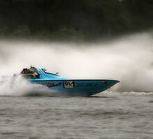 Easter sunday power boats 01 by kevin chippindall
