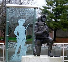 The Soldier Memorial Garden by Marie Sharp