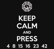 Keep Calm & Press... T-Shirt
