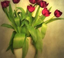 Glowing Tulips by AnnieSnel