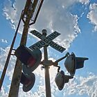 Railroad Crossing  by Susan S. Kline