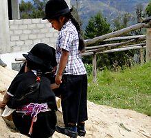 Saraguro Kids 282 by Al Bourassa