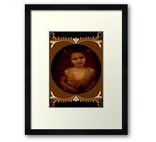 Sadness of Gracie Framed Print