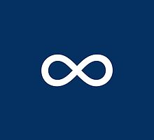 Navy Blue Infinity by M Studio Designs