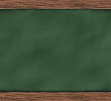 Writing Board by Auke Manderfeld