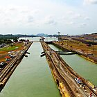 Pedro Miguel Locks, Panama Canal 1 by Kurt  Van Wagner