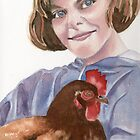 Pet Chicken by Marsha Elliott