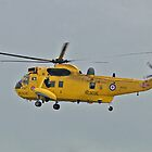 RAF Sea King HAR3A by Barrie Woodward