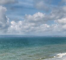 Poole Bay panorama by Chris Day