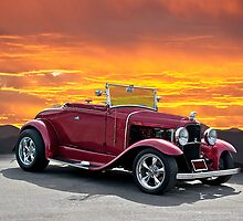 1930 Model A Ford Roadster by DaveKoontz