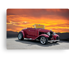 1930 Model A Ford Roadster Canvas Print