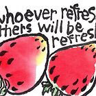 Be Refreshed (Strawberries) by dosankodebbie